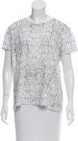 Proenza Schouler Printed Oversize T-Shirt