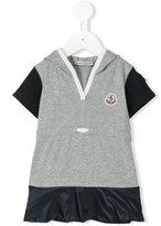 Moncler drawstring hooded T-shirt - kids - Cotton/Polyamide/Spandex/Elastane - 12 mth