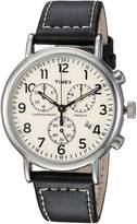 Timex Weekender Chrono Strap Watch Watches