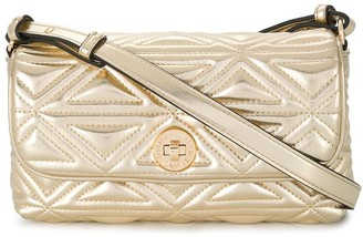 Emporio Armani Faux Leather Quilted Bag
