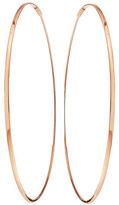 Lana Large 14K Oval Magic Hoop Earrings