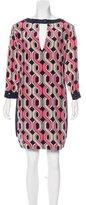 Trina Turk Silk Long Sleeve Dress w/ Tags