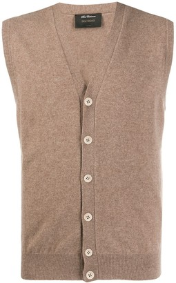 Dell'oglio Sleeveless Cardigan