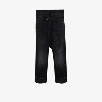 R 13 Staley Crossover Waist Jeans