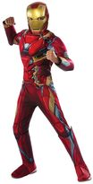Kids Captain America: Civil War Iron Man Deluxe Muscle Chest Costume