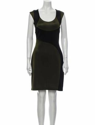 Prada 2014 Knee-Length Dress Black
