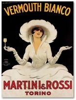 KitchenArt ''Vermouth Bianco Mini Rossi'' Canvas Wall Art by Marcello Dudovich