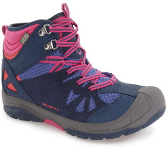 Merrell 'Capra' Mid Waterproof Hiking Shoe