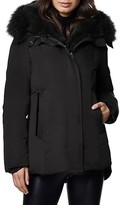 Thumbnail for your product : Dawn Levy Luka Fur-Trim Hooded Jacket