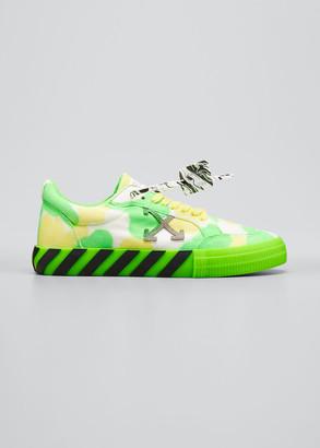 Off-White Men's Arrow Tie-Dye Vulcanized Sneakers