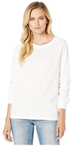 Alternative Burnout French Terry Lazy Day Pullover (Ivory) Women's Clothing