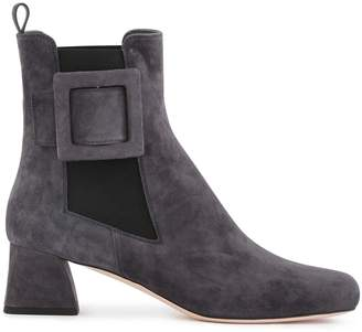 Roger Vivier Tres Vivier Chelsea ankle boots