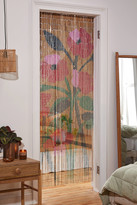Urban Outfitters Wella Poppy Beaded Bamboo Curtain