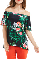 Vince Camuto Tropical Off-the-Shoulder Blouse