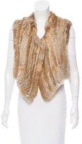 Antik Batik Knitted Fur Vest
