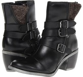 Hush Puppies Rustique Ankle BT (Black WP Leather) - Footwear
