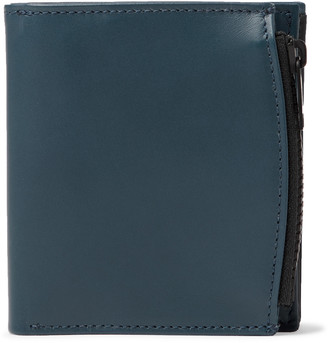 Maison Margiela Colour-Block Leather Trifold Wallet