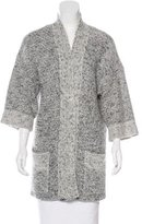 Isabel Marant Knit Open-Front Cardigan