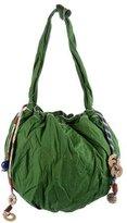 Marni Emerald Drawstring Hobo