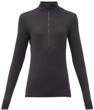 Fusalp - Gemini Iii Half-zip Jersey Mid-layer Jacket - Womens - Black
