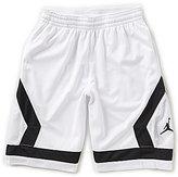Jordan Big Boys 8-20 Flight Knit Diamond Printed Shorts