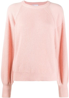 RED Valentino Puffed-Sleeve Jumper