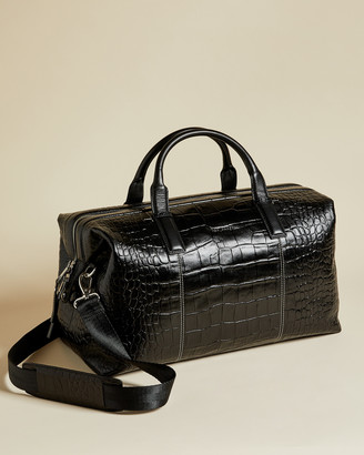 Ted Baker DONK Croc print holdall