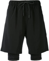Puma x Stampd layered shorts - men - Polyester/Spandex/Elastane - XS