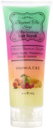 Sorbet Beyond the Soap Green Apple Lemon Nourishing Rainbiow Salt