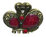 B.ella Heart Crown Mini Jaw Clip U864175-2287red