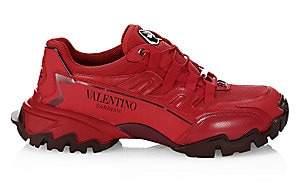 Valentino Men's Garavani Climber Leather Sneakers