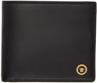 Versace Black Icon Bifold Wallet