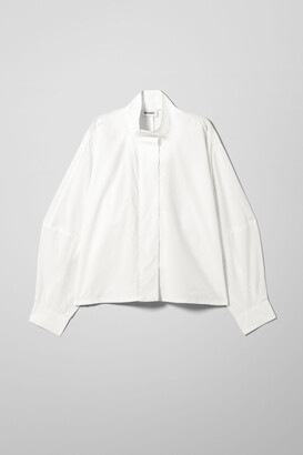 Weekday Noelle Shirt - White