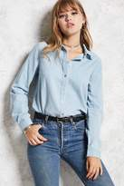 Forever 21 Chambray Button-Down Shirt