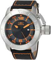 Invicta Men's 'Corduba' Quartz Stainless Steel and Nylon Casual Watch, Color: (Model: 21915)