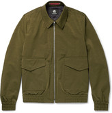 Paul Smith Slub Satin Flight Jacket