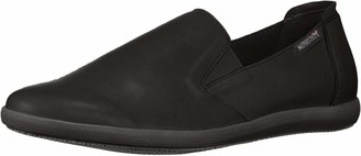 Mephisto Women's Korie Slip On Shoes Black Leather 7 M US