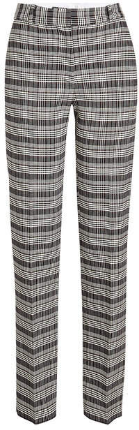 Victoria Beckham Printed Pants with Wool