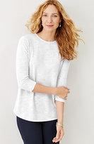 J. Jill Breezy Linen & Cotton Pullover