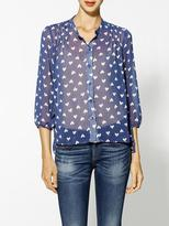 Collective Concepts Hearts Afloat Blouse