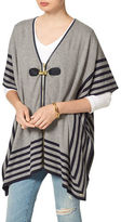 Tommy Hilfiger Patterned Poncho Sweater