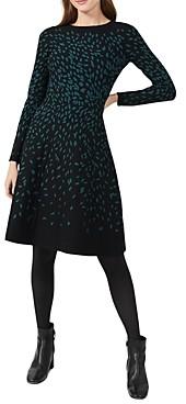 Hobbs London Jodie Printed Knit Dress