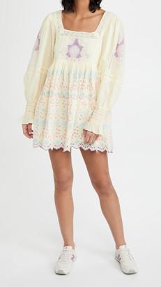 LoveShackFancy Freja Mini Dress
