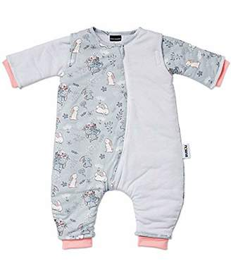 Gesslein Bubou Walker Design 187 752187 Sleeping Bag for Babies and Children with Legs, Size 90, Blue