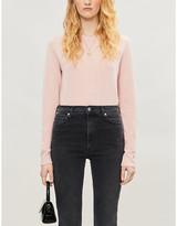 Reformation Round-neck cashmere and wool-blend jumper