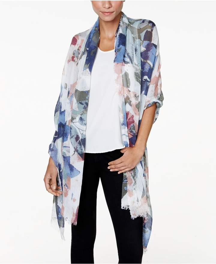 Vince Camuto Foliage Wrap & Scarf in One