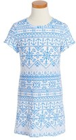Vineyard Vines Anchor Print T-Shirt Dress (Toddler Girls)
