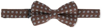 Isaia Kids Printed Bow Tie