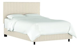 Gracie Oaks Burgos Upholstered Standard Bed Size: Full, Color: Fritz Sky