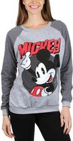 Mickey Mouse Gray Sweatshirt - Juniors